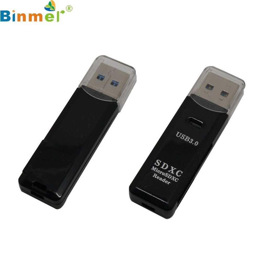 מיני 5Gbps סופר מהירות USB 3.0 מיקרו SD/SDXC TF כרטיס קורא מתאם Mac OS פרו זרוק חינם LJJ1227