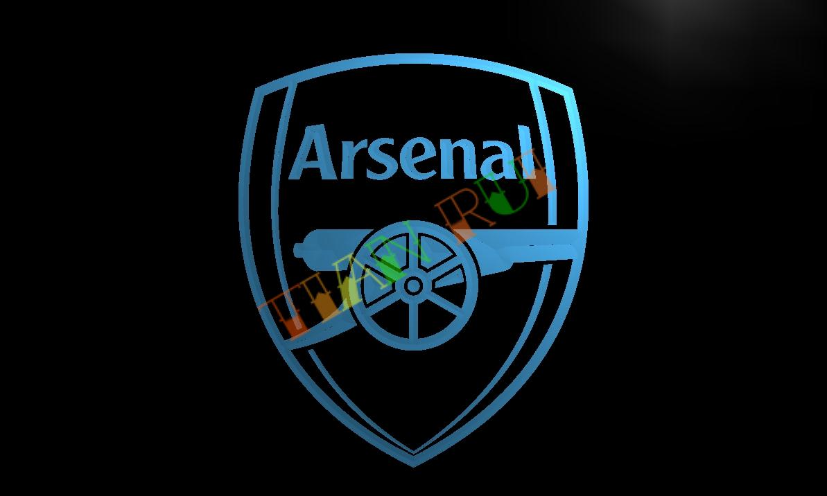 Buy ld203 arsenal led neon light sign for Arsenal mural wallpaper