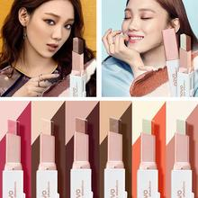 Double Color Eyeshadow Stick Stereo Gradien Shimmer Color Eye Shadow Cream Pen Eye Makeup Palette Cosmetics Smooth Makeup Pencil eye shadow palette cream best makeup women eyeshadow