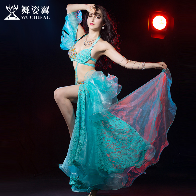 2016 Wuchieal font b Women b font Brand High Grade Bellydance Costumes 2017 New Woman Belly