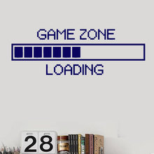 Game Zone Wall Stickers