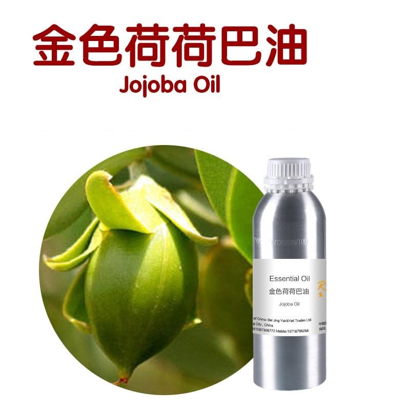 100g/bottle olio base di Jojoba, organic spremuto a freddo olio di Jojoba olio vegetale vegetale idratante, ridurre i pori, il controllo del petrolio