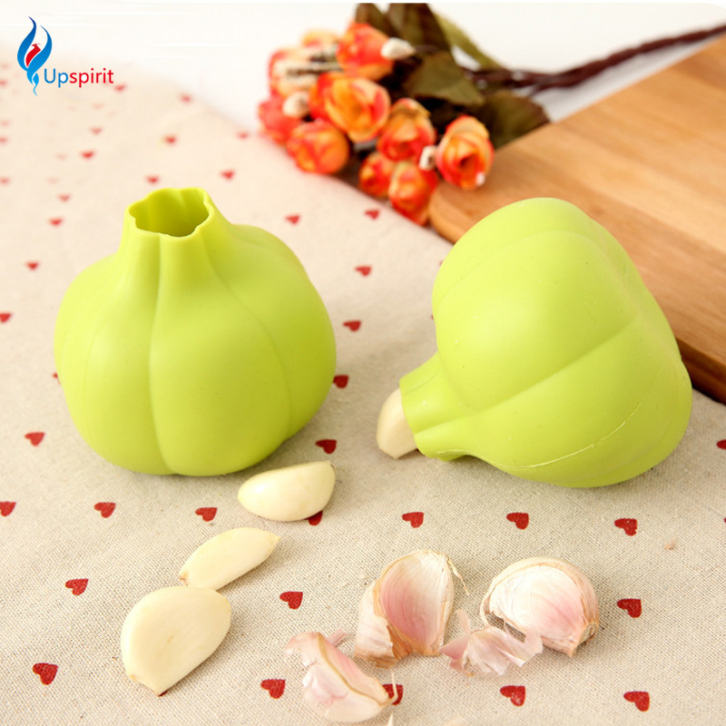 Creative Silicone Garlic Shaped Garlic Peeler Practical Kitchen Gadgets Garlic