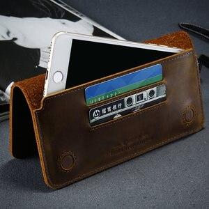 Image 4 - CASESHIP için hakiki deri cüzdan kılıf iPhone 7 8 X için cüzdan kart yuvaları lüks telefonu çanta kılıfı için iPhone 7 8 6 S artı kılıfları