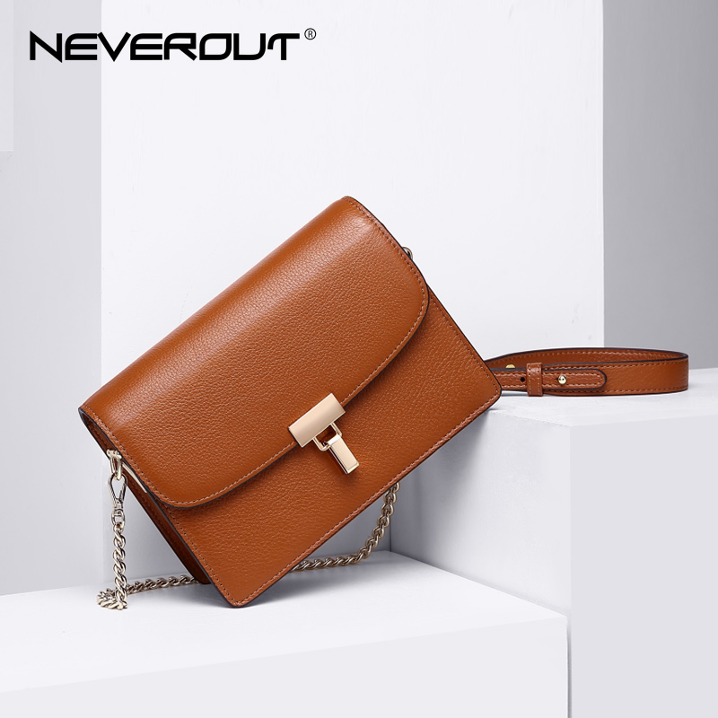NEVEROUT 3 Color Real Leather Crossbody High Quality Solid Small Bag Women Shoulder Flap Bags Sac Brand Name Messenger Bags все цены