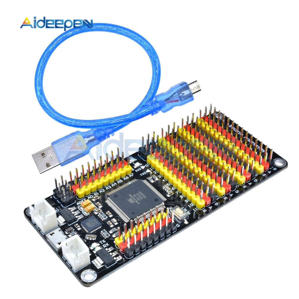 ATmega2560 ATmega16U2 MEGA 2560 MEGA2560 R3 Carte Microcontrôleur Module Micro USB 16 mhz Remplacer CH340 CH340G pour Arduino