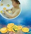 Baño de Dibujos Animados de Animales Marinos Niños Niños Jugando en el Agua de Espuma EVA Juguetes Del Baño Del Bebé, 10 unids