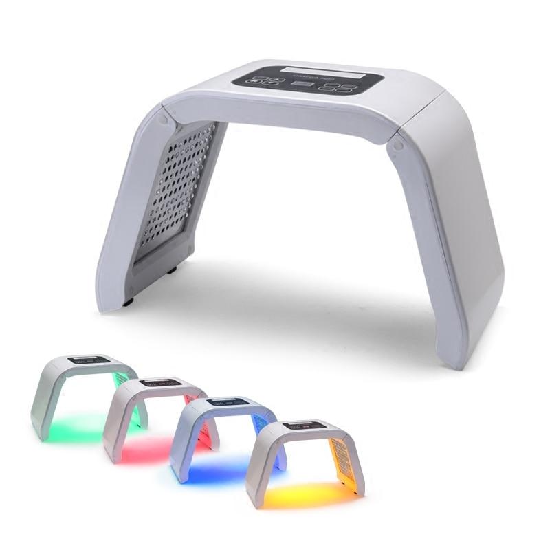 2018 NEW Professional Photon PDT Led Light Facial Mask Machine 7 Colors Acne Treatment F ...