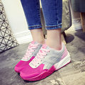 Mujer Calzado Casual Transpirable Zapatos Zapatillas Mujer 2016 Caliente de La Manera Plana Con Zapatos de los Tenis de Las Mujeres Estilo de La Moda de Malla Zapatos de Las Mujeres