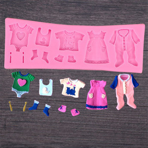 DIY 3D Baby Clothes Shower Sil