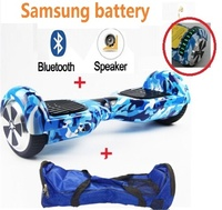 6.5 inch hoverboard bluetooth and LED skateboard Samsung battery Electric Scooter Portable Self Balance Hover Board Two Wheels