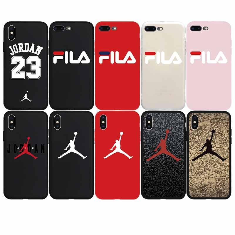 Jordan Air Jump Man Mjukt Fodral Till Iphone 7 7plus 8 8plus X Xs Max Xr 6 6s Plus 5 5s Se Mobilskal Telefonväskor Coque Fundas Dealpoint Se