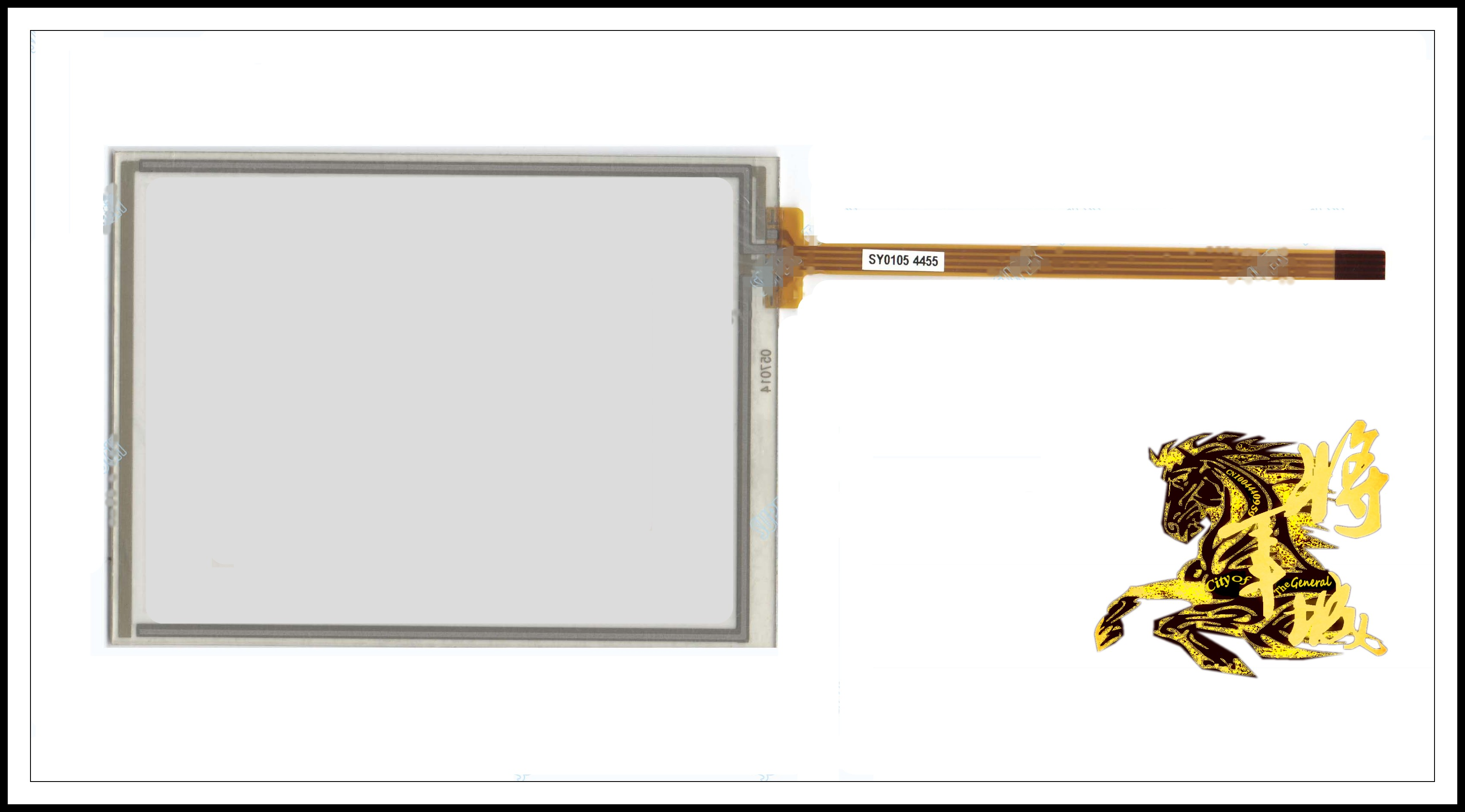 GENCTY For 5.7 inch 131 * 97 resistive touch screen W-X