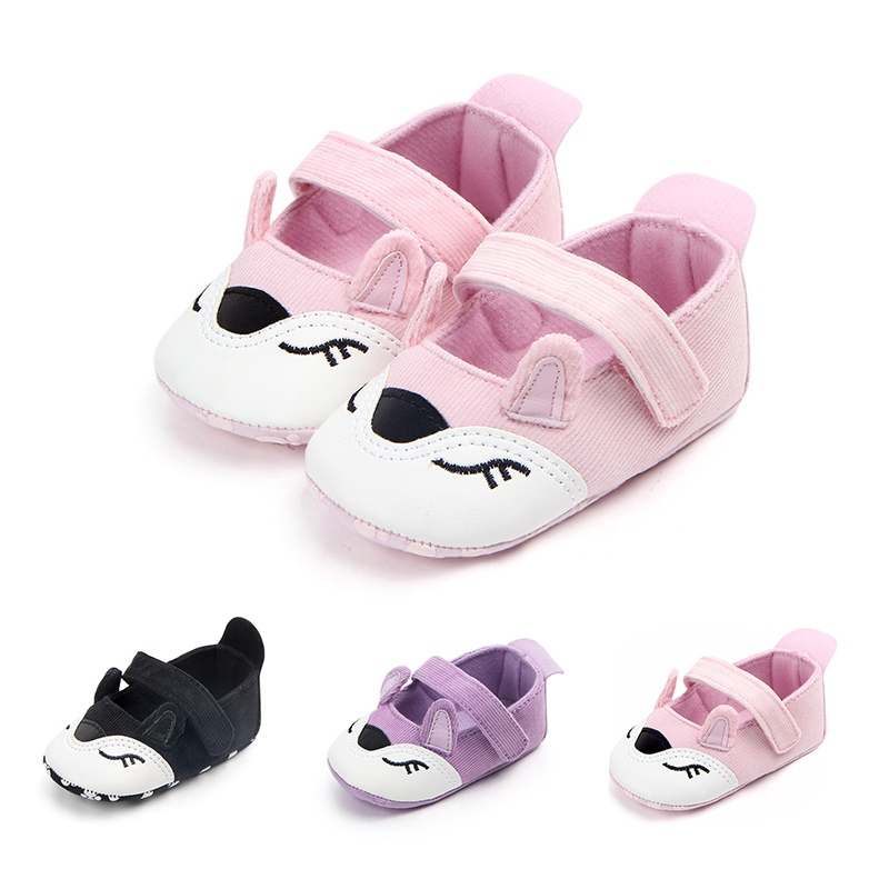 Spring Autumn Baby Cartoon Anti-slip Shoes Boy Girl Kids Soft Sole First Walkers Casual Walking Shoes