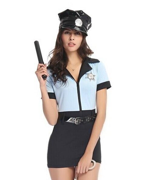 Сексуальная женская форма полиции
