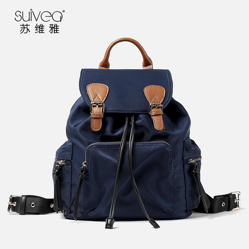 wholesale new arrive 2017 women s nylon backpack school bag fashion High Quality Travel Backpack Female