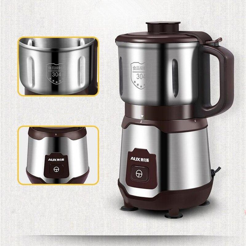 220 v 500 w Huishoudelijke Elektrische Molen Mini Droog Slijpen Kruid Koffie Graan Kruiden Slijpmachine Poeder Molen EU/ AU/UK - 3