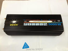 10000W Modified Sine Wave car power inverter 5000w 12V to AC 240V inversor with battery charge function