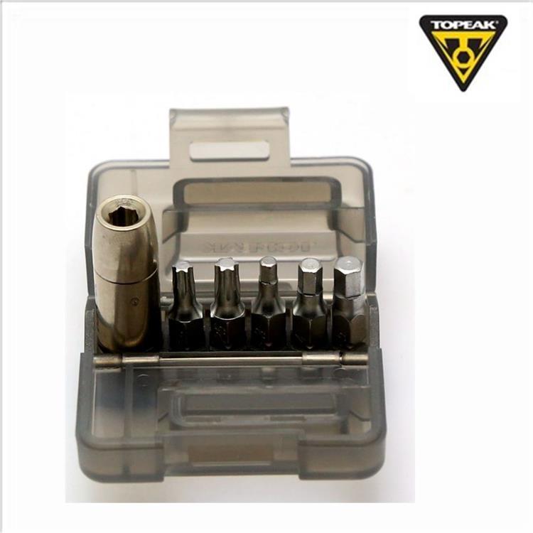 Topeak Nano TorqBox Tool Torque Wrench Topeak Nano Torgbox 5nm W//3//4//5//t20//t25