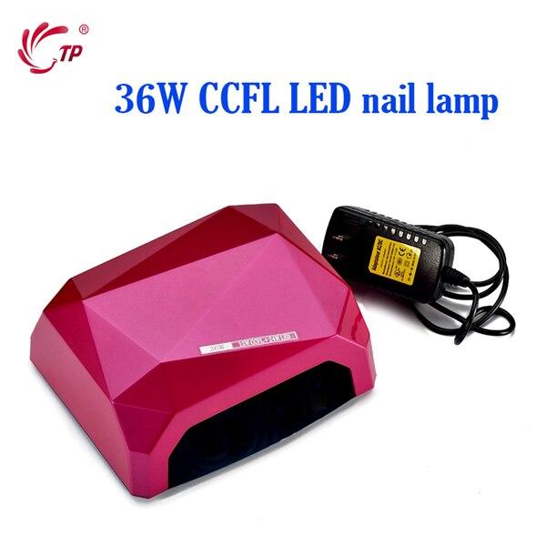 Nail Art tools High Level 220V EU Plug UV GEL Polish Curing 36W CCFL LED Nail Lamp Dryers  Nail Manicure For Salon Personal