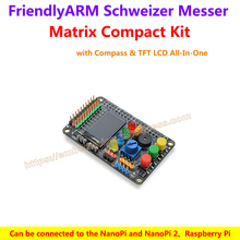 Wholesale Matrix Compact Kit – FriendlyARM's Schweizer Messer with Compass & TFT LCD All-In-One,support NanoPi 2 Fire Raspberry Pi Arduino