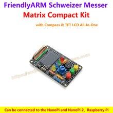 Matrix Compact Kit – FriendlyARM's Schweizer Messer with Compass & TFT LCD All-In-One,support NanoPi 2 Fire Raspberry Pi Arduino