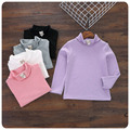 Korean Girl Children's Garment 2016 Autumn New Pattern High Lead Unlined Upper Garment Girl Baby T-Shirt Jacket Upper Garment