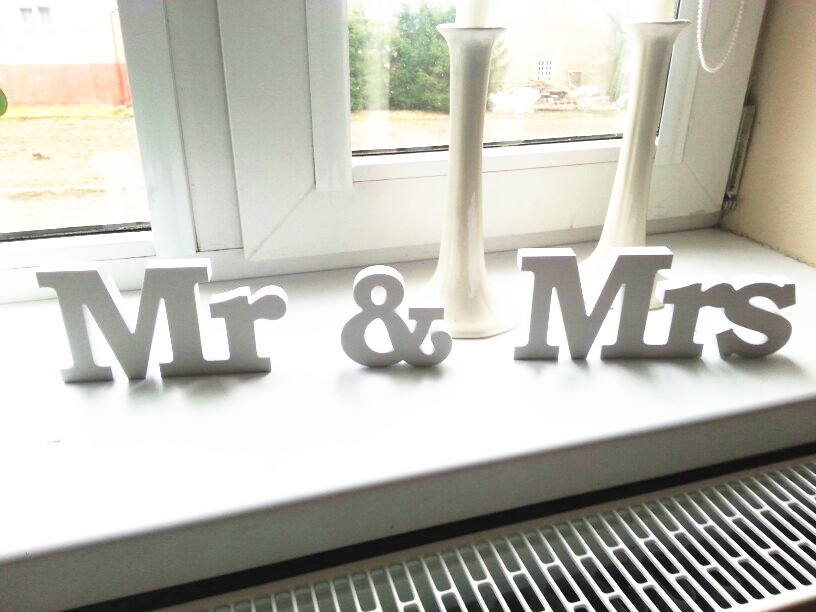 Custom Wedding Decoraions,Mr& Mrs Signs Mr & Mrs Letters For Sweetheart Table Decor Mr & Mrs Letters Ristic Wedding Gift