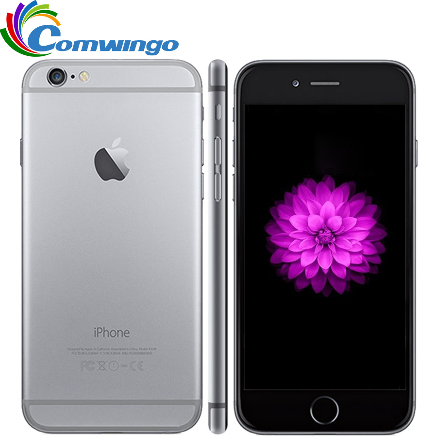 Original Unlocked iPhone 6 16G/64G/128G ROM IOS System 4.7'' Dual Core 8PM GSM WCDMA LTE Mobile Phone iPhone6 Best iphone-in Cellphones from Cellphones & Telecommunications