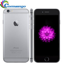 Original Unlocked iPhone 6 16G/64G/128G ROM IOS System 4.7'' Dual Core 8PM GSM WCDMA LTE Mobile Phone iPhone6 Best iphone(China)