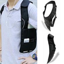Men's Anti-Theft  Underarm Security Shoulder Holster Cross Strap Bag Wallet
