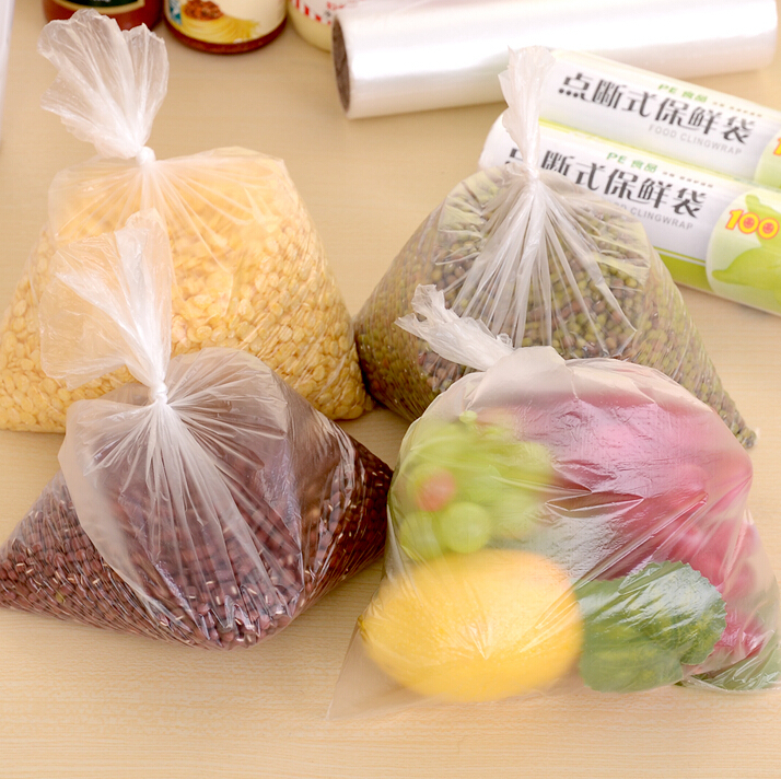 50PCS/ROLL Food Saving Storage Bag Vacuum Sealing Sealer Rolls System Keep Fresh saran wrap freshness protection package