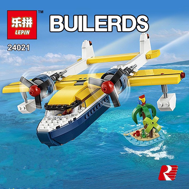 Lepin 24021 379PCS New Creative The Underwater Explora Ship Set Children Educational Building Blocks Bricks Funny Toys Model new lepin 16042 pirate ship series building blocks the slient mary set children educational bricks toys model gift with 71042