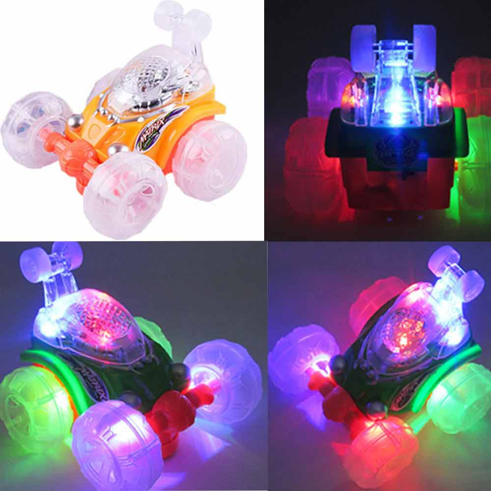 Electric Car Rechargeable Stunt Acrobatic Flash Light Music Toys Education Toy Baby Toys & Games Children