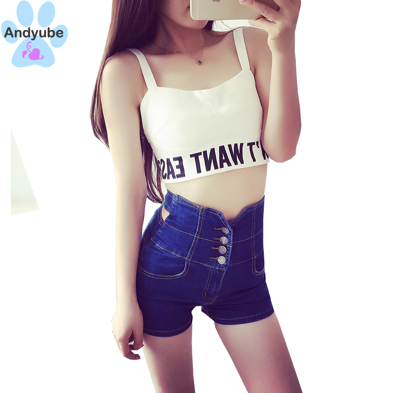 Popular Tight High Waisted Denim Shorts-Buy Cheap Tight High ...