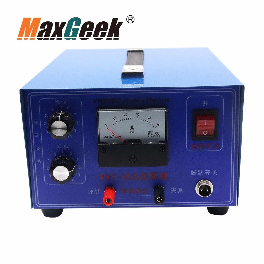 400 W 50A bijoux Machine à souder Laser Mini soudeuse par points or argent 110/220 v