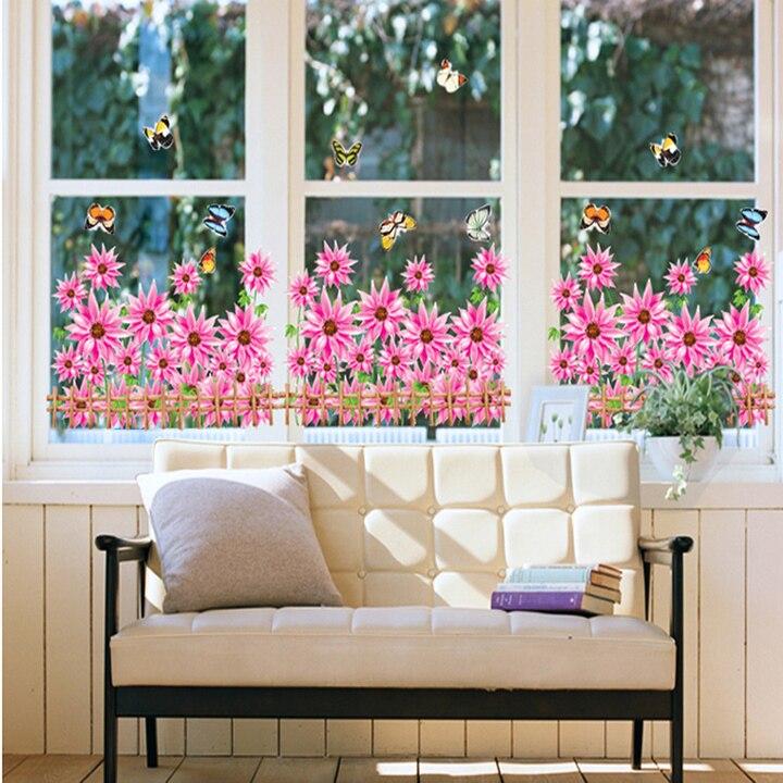 Новый 22 виды стиль Красивая завод сад трава Спальня Кухня Гостиная kidsroom 3D DIY обои подарок детский сад