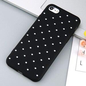 Image 4 - Capinha de celular uslion point, capinha de celular para iphone 11 pro max vinho vermelho ploka pontos capinha de tpu macio para iphone x xr xs max 8 7 6 s plus 5 s se