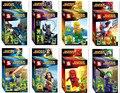 8 шт. Marvel Цифры Паук Флэш Джокер Дэдпул Super Heroes Мстители DC Minifig Блоки Игрушки Совместимость legoINGlys Супергероев