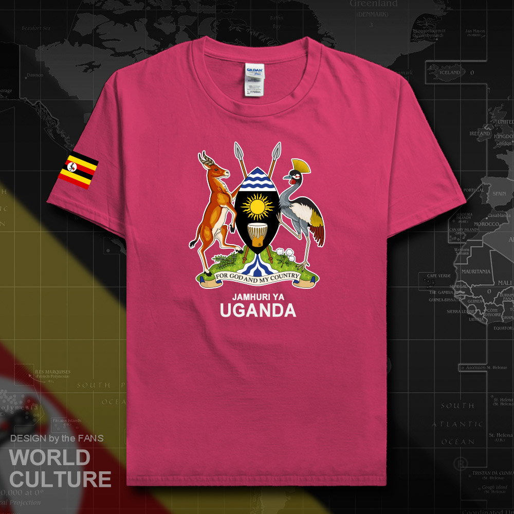 Uganda Ugandan Men T Shirt Fashion 2018 Jerseys Team Nation 100 Cotton T Shirt Gyms Clothing Tees Country Sporting Flags Uga 20 T Shirts Aliexpress
