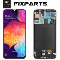 ORIGINAL SUPER AMOLED LCD for SAMSUNG Galaxy A50 A505 Display Touch Screen Digitizer Assembly A50 2019 A505F LCD For SAMSUNG A50