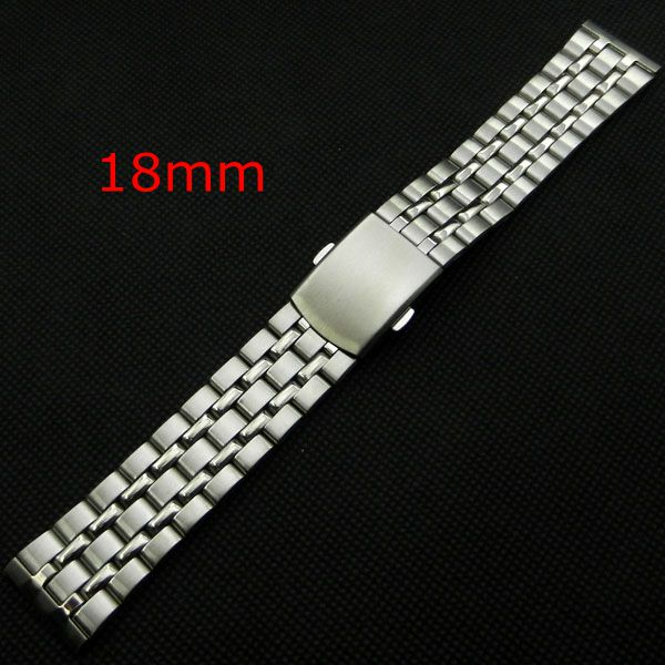 2016 High Quality Silver 18mm Stainless Steel Watchbands Strap Bracelet For Men Women Watches Replacement GD010518 dr irrenpreet singh sanghotra dr prem kumar and dr paramjeet kaur dhindsa quality management practices and organisational performance