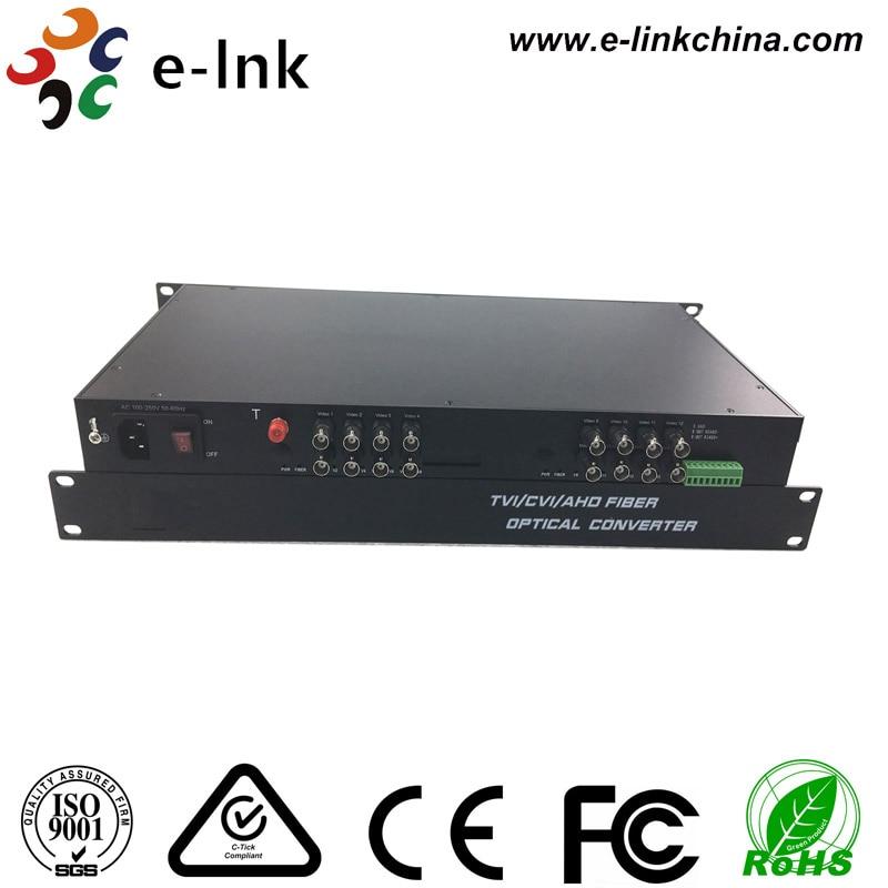 Transceptor da fibra de 16Ch AHD CVI TVI para a câmera de HD - Equipamento de comunicação - Foto 2