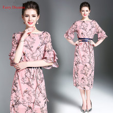Fairy Dreams Women Bandage Dresses Half Sleeve Print Summer Dress 2017 Hot Sale Fashion Plus Size Clothing XXL vestidos de festa