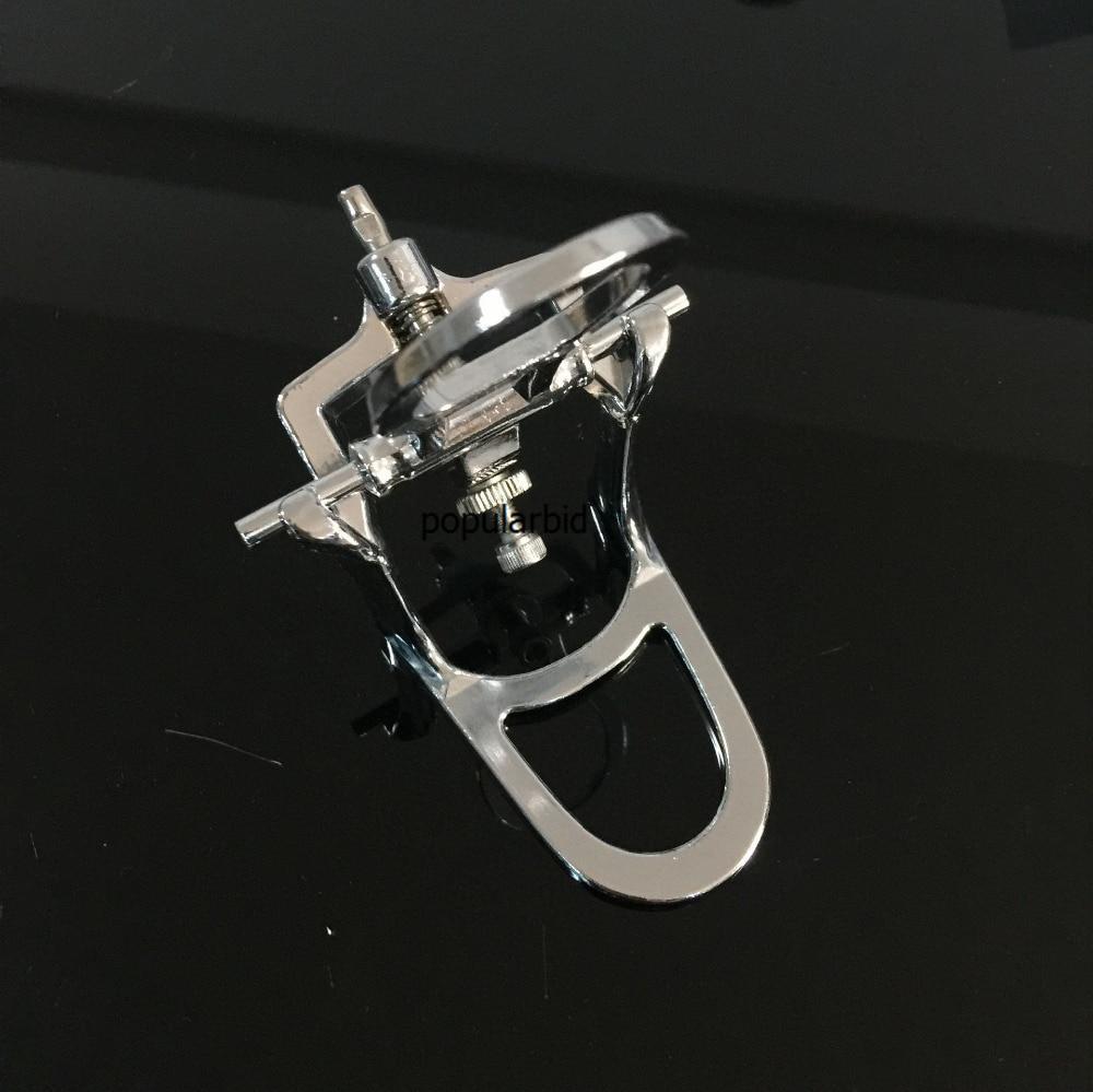 Lab Gigi Artifactual Chrome Berlapis Penuh Lengkungan Tinggi Tutup Kancing 12 Merah Baut L6 Disesuaikan Ukuran S