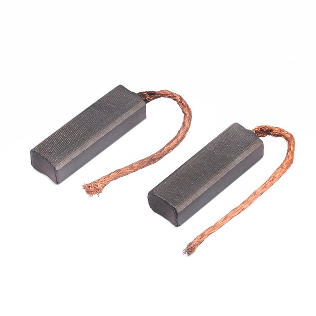 US $1 64 25% OFF|10pcs Conductive Copper Carbon Brushes Wire Leads  4 5*6 5*20mm for Generator Generic Electric Motor Durable Mini Carbon  Brush-in