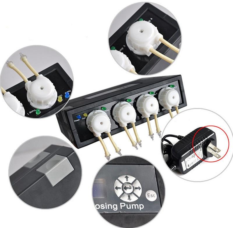 Jebao DP 2 DP 3 DP 4 Automatic Dosing Pump Peristaltic Pump Aqurium Doser Pump for