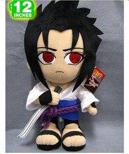 Movies TV gift toy naruto plush toy standing Itachi Uchiha Sasuke birthday gift about 32cm