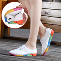 Plus size 35-41 Ladies Lace Up Flat Shoes Women Flats Loafers Non-Slip Casual Mother Pregant Women s Shoes Sapato Feminino O1933
