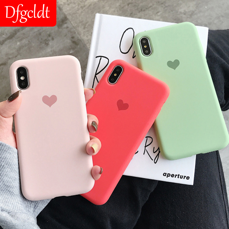 Galleria fotografica Original Offical Matte Phone Case For iPhone 7 Plus 6 8 X XR XS Max For iPhone 11 Pro Simple Silicone Soft TPU Cases Back Cover